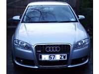 Audi A4 s-line Automatic, 113000miles. Lovely motor... sorry to be saying goodbye to it!