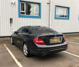 Mercedes Benz C Class Coupe 2013 C250 AMG Sport 7G-Tronic Plus, Panoramic roof MUST SEE