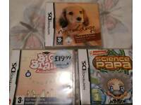 DS Games x3