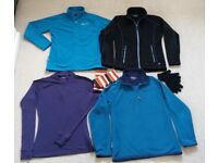 Warm BASE, MID and OUTER LAYER fleeces + Anna Falcke WRISTEES (worth £15 alone) Ayucho size 10 / 12