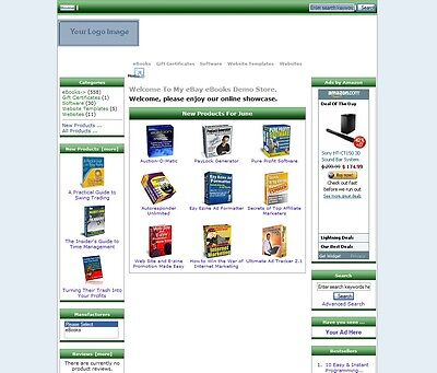500 eBooks Store Website Fully Automated 1 Year Hosting New Low Price](Low Price Website)