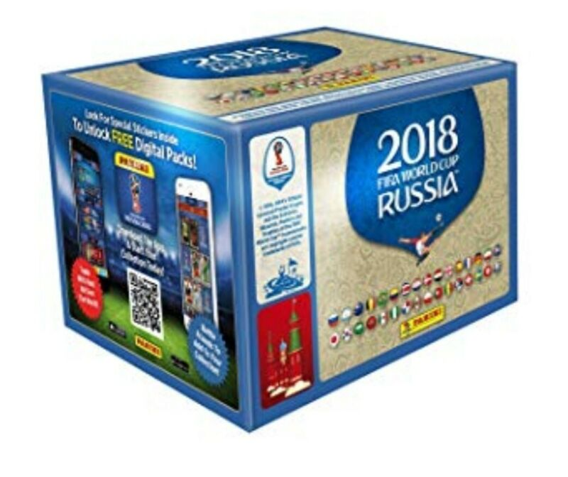 2018 World Cup Russia Panini Stickers Any 10 For £1