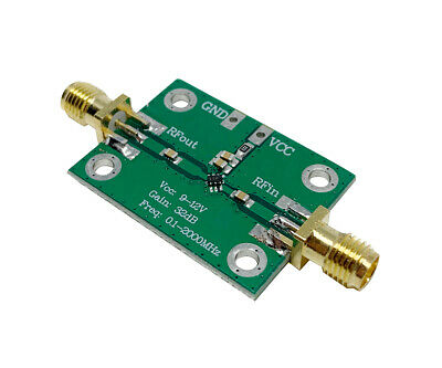 0.1-2000mhz Rf Amplifier 30db Low-noise Lna Broadband Module Receiver