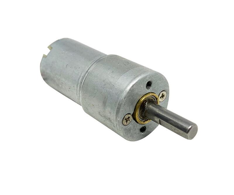 12VDC Gear Motor, 12V, 500mA, 100 RPM,