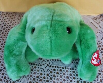 TY Beanie Buddy Legs The Frog Retired - New With Tags