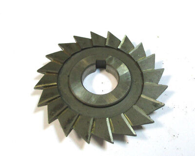 Angle Milling Cutter Hss D 80 X9x22 18 With Eckradius R Ca.1 By Wmw Pws