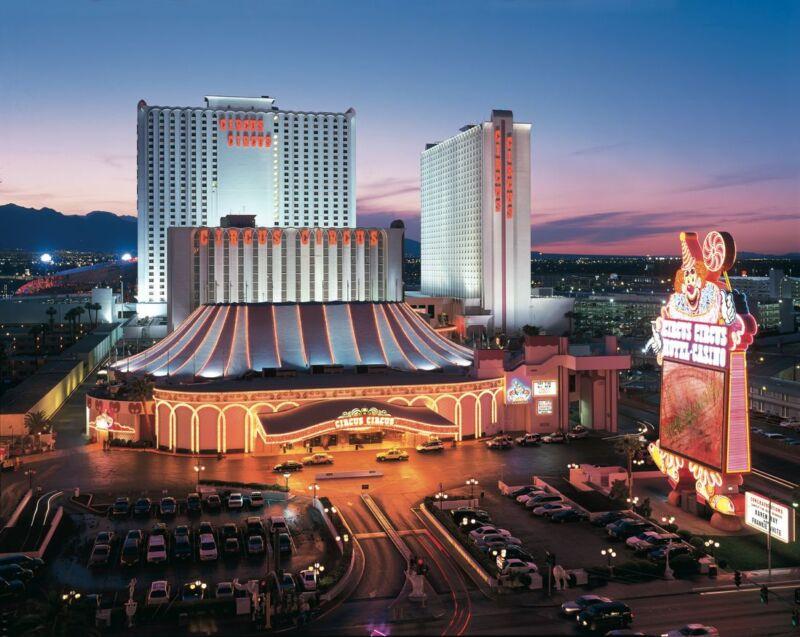 Circus Circus Hotel Casino The Strip Las Vegas Nevada 8x10 Photo Picture