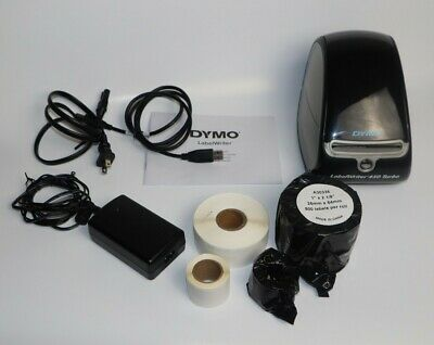 Dymo Labelwriter 450 Turbo Label Thermal Printer - Black With Box Pre-owned