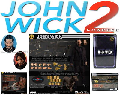 MEZCO 1:12 ONE:12 JOHN WICK Chapter 2 Deluxe Edition ----IN-STOCK----