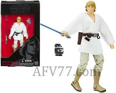 Hasbro Star Wars Black Series Wave 6 Force Awakens 6  Luke Skywalker   New Hope