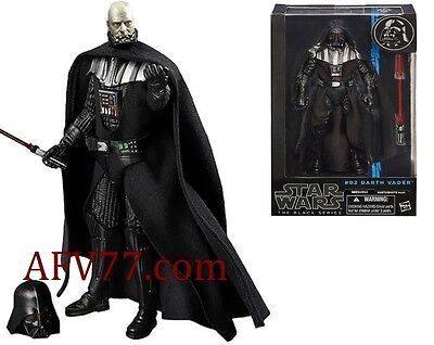 "Hasbro Star Wars BLACK Series 6"" DARTH VADER"