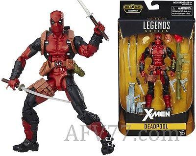 "Hasbro 2016 Marvel Legends 6"" X-Men DEADPOOL Juggernaut BAF ---Read---"