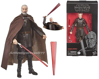 "2020 Star Wars The BLACK Series 6"" COUNT DOOKU ----IN-STOCK----"