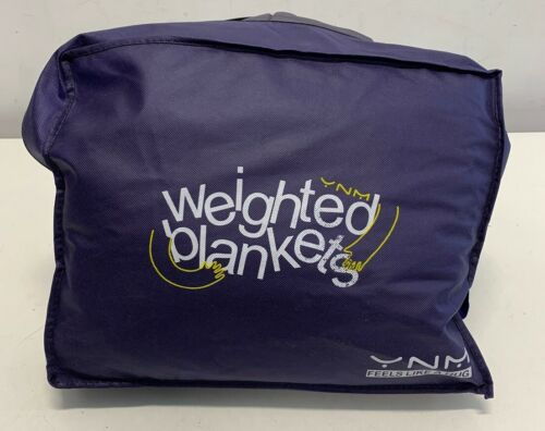YnM Weighted Blanket 28 lbs, 60''x80'', Queen Size  Heavy Bl