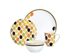 """Rachael Ray """"Little Hoot"""" Owl Dishes - 8 place settings"""