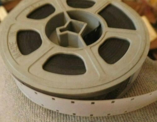 VINTAGE 16mm Home Movie Film 3 In Reel Untitled Unwatched Unknown Mystery 1950s