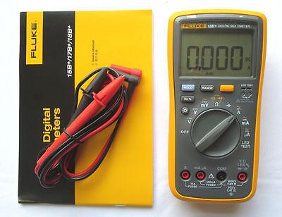 New Fluke Digital Multimeter F18b Led Tester 18b Voltmeter Warranty 1y