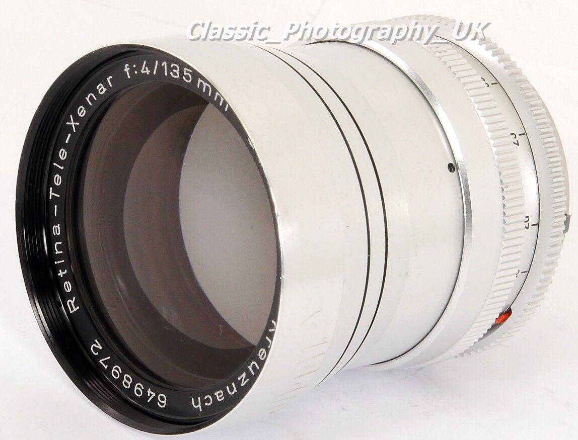 SCHNEIDER-KREUZNACH Retina-TELE-Xenar C 1:4/135mm Telephoto Lens KODAK Retina