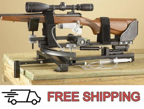 Precision Shooting Range Rest Rifle Bench Remote Triggering Adjustable Bench