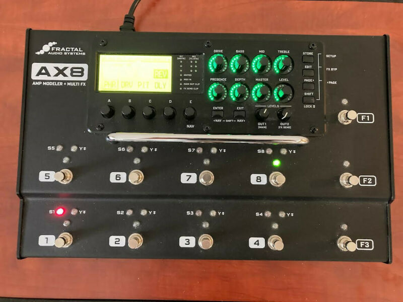 Fractal Ax8 amp modeler used - in great condition!