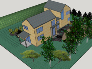 Maison à louer- nouvelle construction North Hatley -1ier Nov.