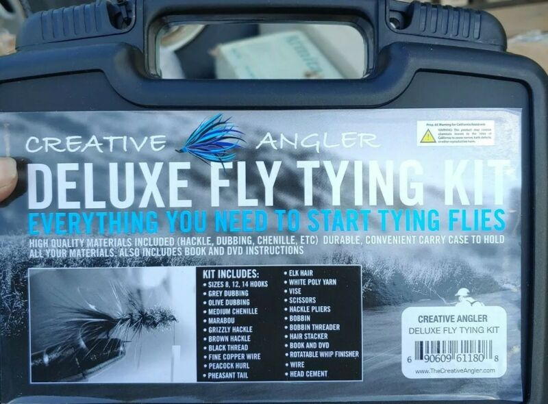 Deluxe Fly Flies Tying Kit ~ New