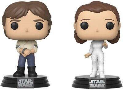 Funko - POP Vinyl: Star Wars - 2 Pack Han & Leia Brand New In Box