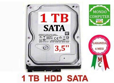 HARD DISK 1 TB SATA < 3,5 ' '> PC FISSO - DESKTOP - INTERNO