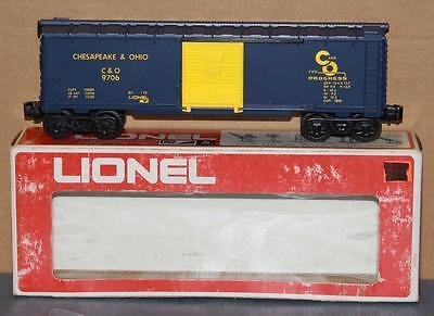 Lionel 6-9706 O/O-27 Chesapeak & Ohio Box Car MIB