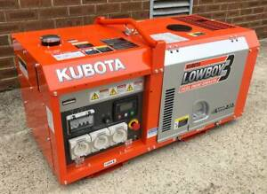 Kubota Generator - GL9000D - 9kVA Single Phase Kewdale Belmont Area Preview