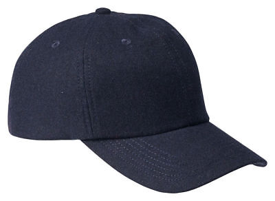 Big Accessories New Unstructured 6 Panel Low Profile Wool Ba