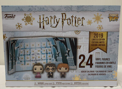 Funko Advent Calendar Harry Potter 2019 Limited Edition Pocket POP! 24 Piece