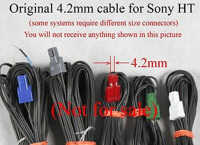 6 4 2mm Speaker Connectors Made For Select Sony Samsung