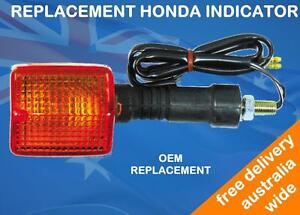 REPLACEMENT INDICATOR SUITS HONDA XLV750R 1986 - REAR