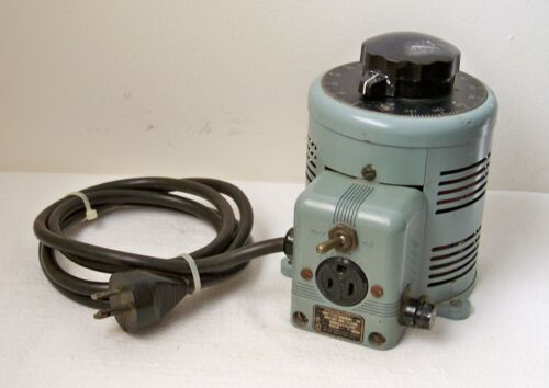 Superior Electric Co. POWERSTAT 3PN116 120V Variable 0-140 Volt Autotransformer