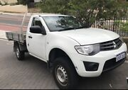 2011 Mitsubishi Triton MY11 Diesel GLX *LOW KMS* Scarborough Stirling Area Preview
