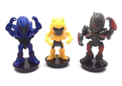 New Bumblebee 2018 Movie Cup Character Topper Figures, Transformers, Set of 3 (Topper Movies)