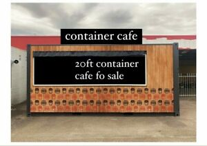 20ft container cafe for sale