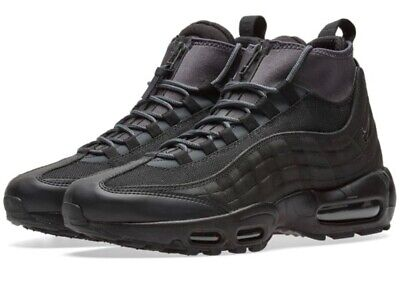 NIKE AIR MAX 95 SNEAKERBOOT, WINTER TRAINERS, UK8.5, BLACK/ANTHRACITE