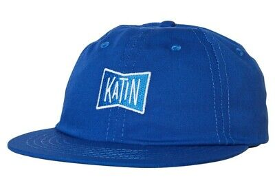 BNWT Katin USA Strapback Cap Royal Blue Baseball Hat