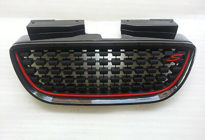 Front Tuning Sports Grille 9A Steal Gray For 07-10 Hyundai Elantra HD