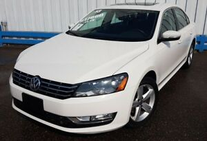 2013 Volkswagen Passat TDI DIESEL *LEATHER-SUNROOF*
