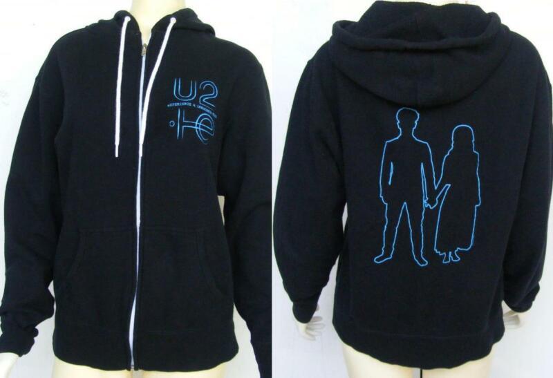 U2 Experience and Innocence Concert Music Tour Hoodie Jacket Sweatshirt Coat M