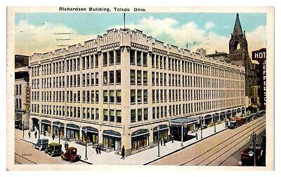 Richardson Building (1927 Richardson Building, Toledo, OH Postcard *243)