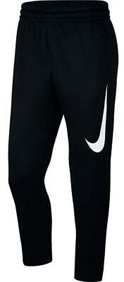 NIKE Men's $55 Therma Fleece Taper Basketball Pants Jogger Dri-Fit AT3260-010