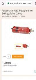 Brand new Automatic ABC Powder Fire Extinguisher 2.0kg