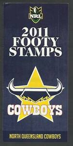 NRL Queensland COWBOYS 2011 Postage Footy Stamps Official Sheet Port Macquarie Port Macquarie City Preview