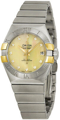 123.20.27.20.57.003 | NEW OMEGA CONSTELLATION DIAMOND DIAL 27 MM WOMEN'S WATCH