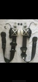 Renault Clio Front 2 Seatbelts – Driver and Passenger Side