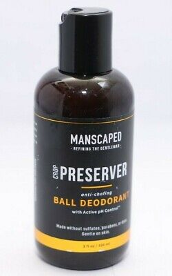 MANSCAPED Men's Ball Deodorant, Male Care Hygiene Moisturizer, The Crop 100ml